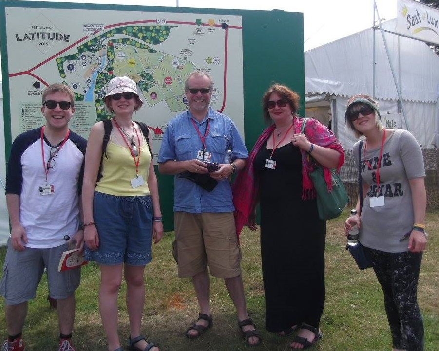 The team at Latitude 2015